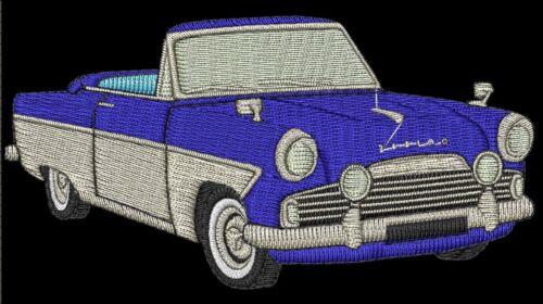 Ford zephyr//zodiac convertible brodé et personnalisé t shirt
