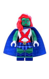 Custom Designed Minifigure Ms Martian Printed On LEGO Parts