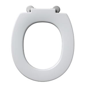 Armitage Shanks Contour 21 white toilet seat + retaining buffers. S406601