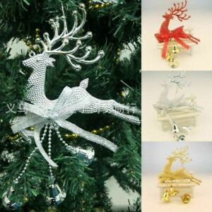 Christmas-Tree-Ornament-Deer-Chital-Hanging-Xmas-Baubles-Home-Party-Decor-New