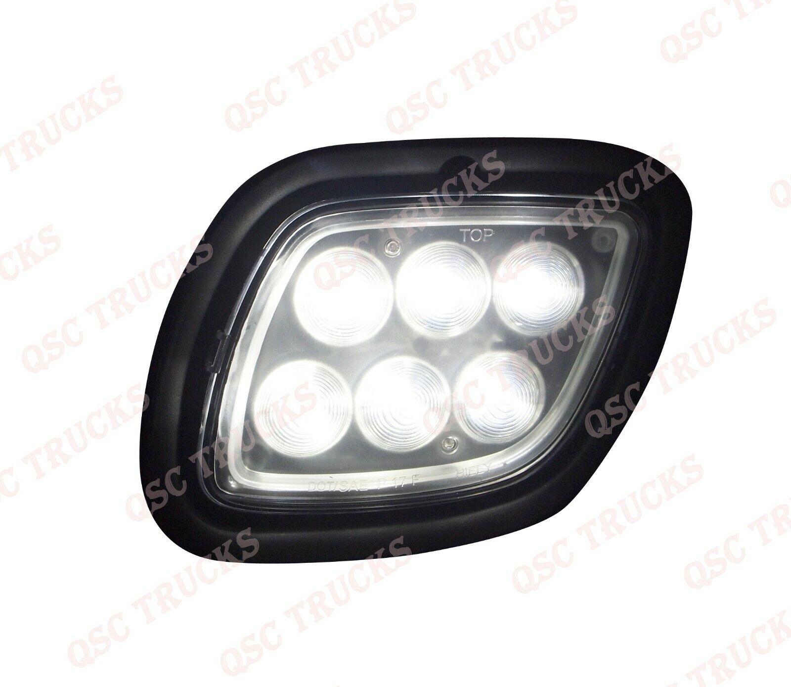 QSC Full LED Performance Fog Lights Lamps Pair for Freightliner Cascadia 08-16