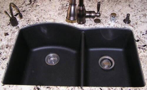 Granite Composite 60//40 Kitchen Sink