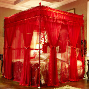 Summer Mosquito Net Bed Netting 2ply Romantic Bed Curtain