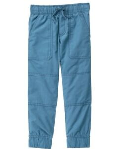 NWT Gymboree Boys Pull on Pants Bluish Gray Jogger Outlet