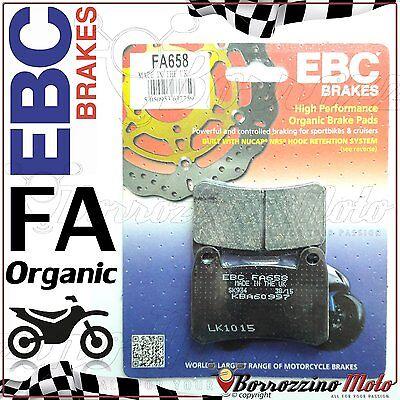 3 Sets EBC Organiques Avant et arrière Disque de frein Pads 2007 To 2011 KAWASAKI Z750