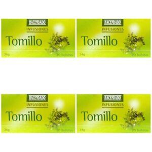 Image Is Loading 4 Bo Thyme Tea Infusion Hacendado 1 Box