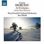 Claude Debussy - Debussy: 24 Préludes (Orch. Peter Breiner, 2012)