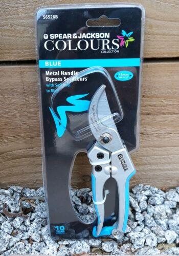 Japanese SK-5 Steel blades Spear /& Jackson Colours Blue Secateurs