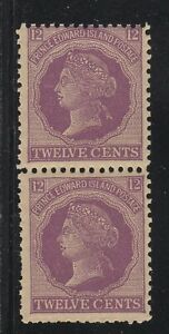 MOTON114-16-pair-Prince-Edward-Island-Canada-mint-never-hinged