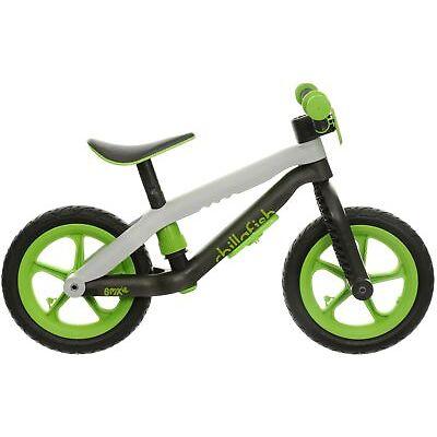 "Chillafish BMXie Unisex Kids Balance Bike Lime 12"" Wheels Plastic Frame Age 3-5"