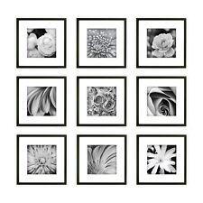 Pinnacle Frames 14FW1018 Gallery Perfect Black 9 Piece Wall Kit