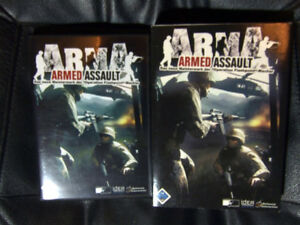 ArmA - Armed Assault Prägedruck (PC, 2006, DVD-Box) - Aalen, Deutschland - ArmA - Armed Assault Prägedruck (PC, 2006, DVD-Box) - Aalen, Deutschland