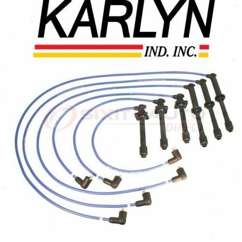 Karlyn Spark Plug Wire Set for 2003-2006 Kia Sorento Ignition Plugs Coils  xo
