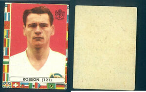 Sir-Bobby-Robson-Inghilterra-MONDIALI-CALCIO-CILE-1962-NUOVO-n-121-ROOKIE