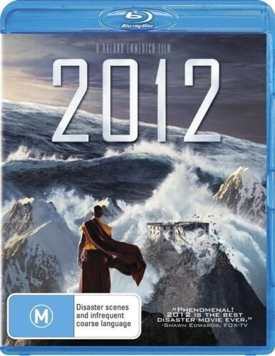 1 of 1 - 2012 (Blu-ray, 2010) BRAND NEW AND SEALED