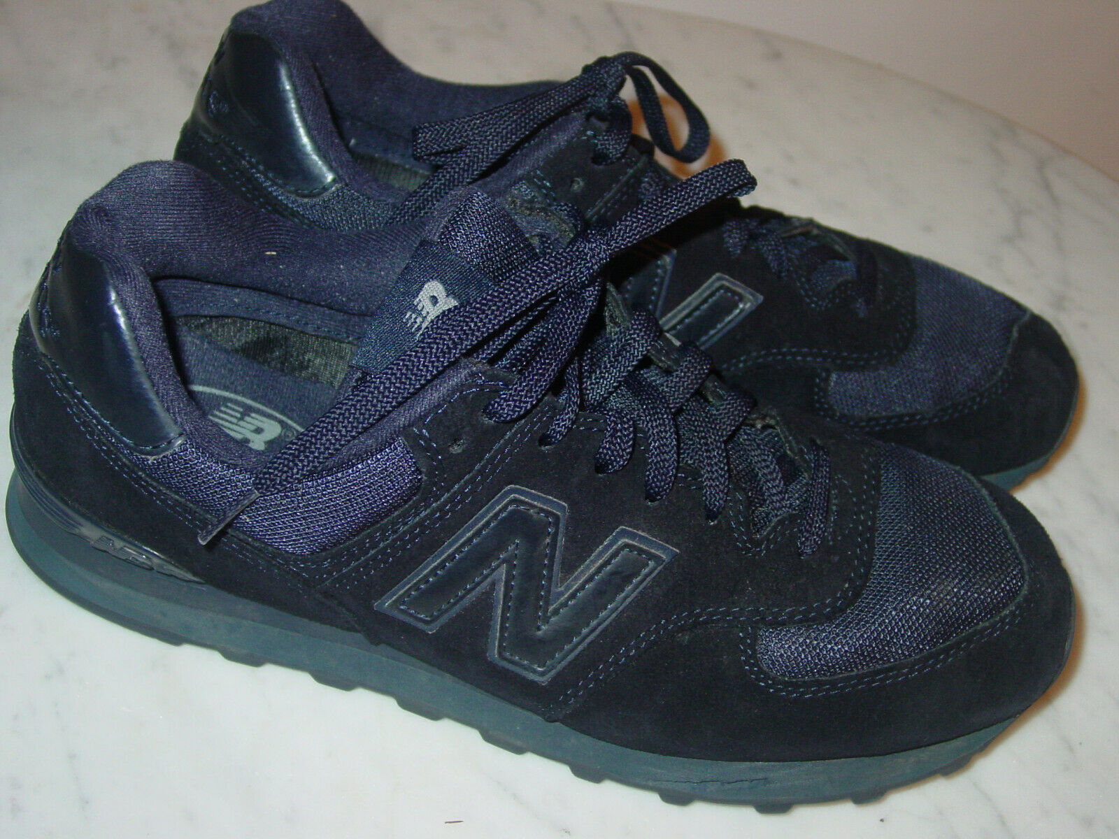 Para Hombre 574  New Balance 574 TNV  Gamuza Azul Marino M Azul Running Zapatos