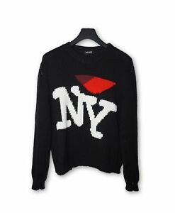 Raf Simons Fw17 I Love Ny Black Sweater Ebay