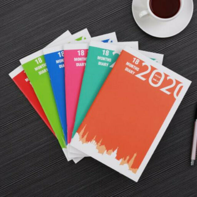 Doe Calendar 2020 18.2020 2021 18 Months Weekly Monthly Journal Planner Diary Students A5 B5 Notebook