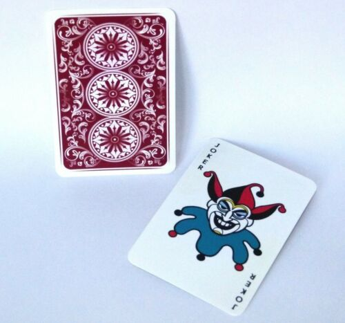 Cosplay joker playing cards