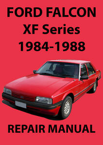 ford falcon xf series workshop manual 1984 1988 ebay. Black Bedroom Furniture Sets. Home Design Ideas