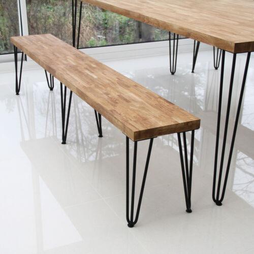 4 x 71cm Hairpin Legs Tischbeine Stuhlbein Möbelfüße Möbelbeine 2 Streben 12mm D