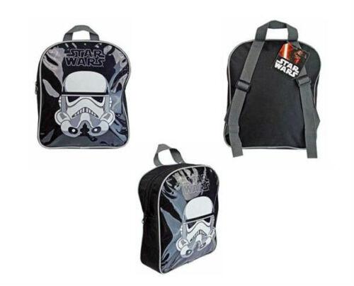 Disney Star Wars Junior Backpack Darth Vader Stormtrooper Kids Lunch School Bag