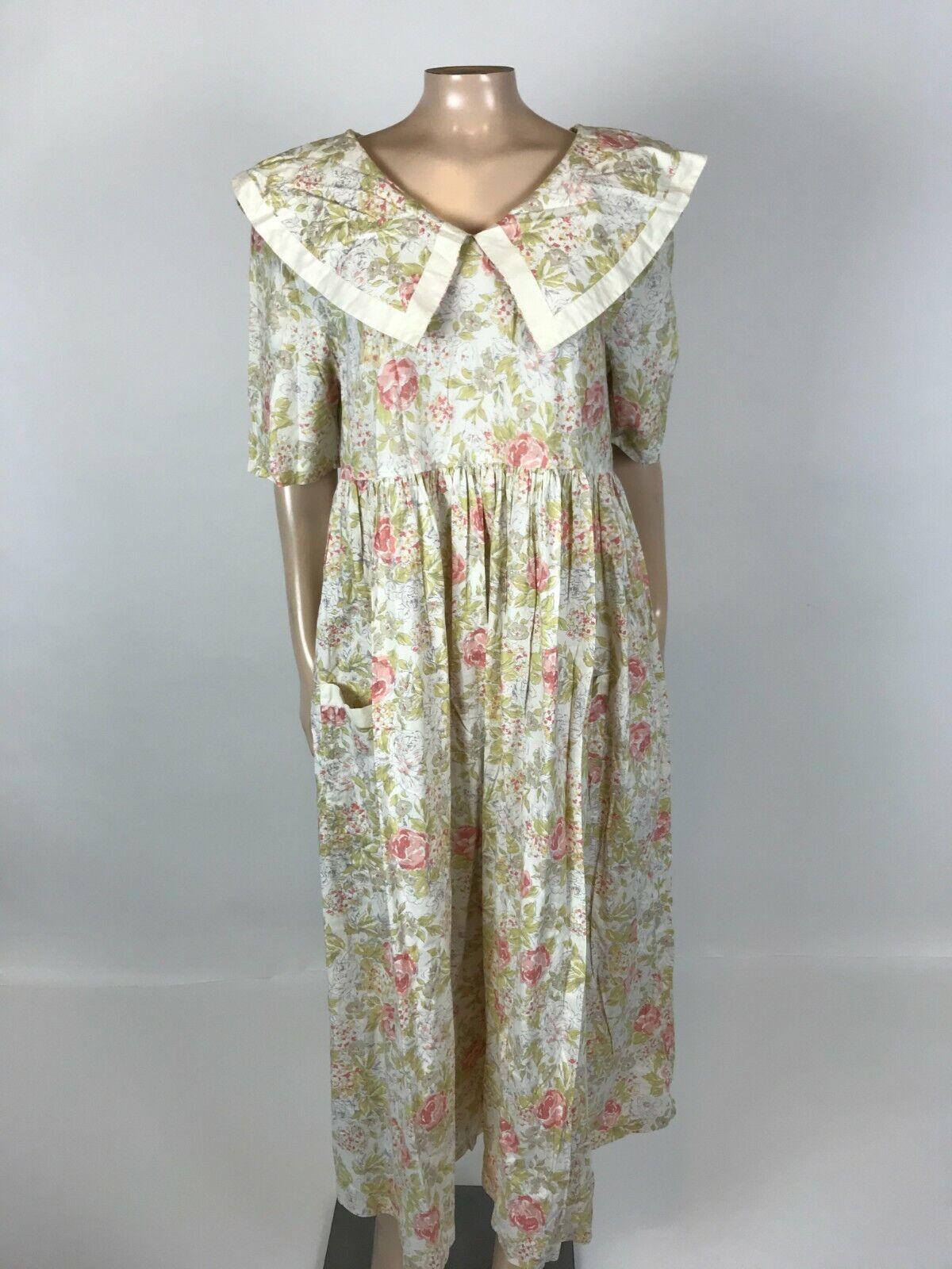 Vintage 90's 90's Laura Ashley Women's Dress Flor… - image 1