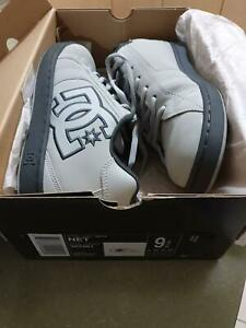 Mens-DC-Net-Shoe-in-Grey-Size-9US