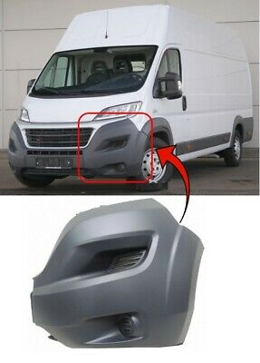 CITROEN RELAY 2014 /> FRONT BUMPER CORNER DRIVER SIDE INSURANCE APPROVED NEW