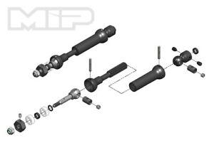 MIP X-Duty Center Drive Kit w//5mm Hubs Axial SMT10 18190 MIP18190