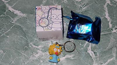 "Kidrobot Keychains Series 1 The Simpsons Bart Simpson 1.5/"" 3D Vinyl Keychain Box"