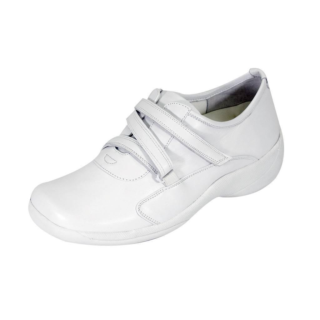 24 HOUR COMFORT Jordan Damens Wide Width Classic Durable Leder Fastener Schuhes