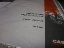Case International 1840 Uni Loader Parts Catalog
