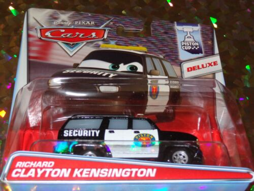"Mattel DISNEY PIXAR CARS/""RICHARD CLAYTON KENSINGTON/""Die-Cast Deluxe BRAND NEW"