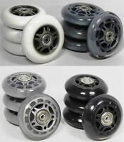4x Inline Skater Rollen-set 70 84 Mm Auswahl + Spacer + Kugellager Inliner