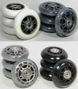 4-er-ROLLEN-SET-Inline-Skater-70-84-mm-Auswahl-Spacer-Kugellager-Inliner