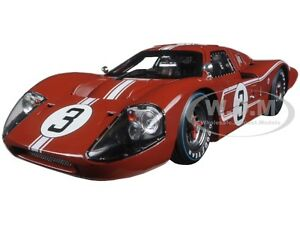 1967-FORD-GT-MK-IV-BROWN-3-LE-MANS-ANDRETTI-1-18-SHELBY-COLLECTIBLES-SC425