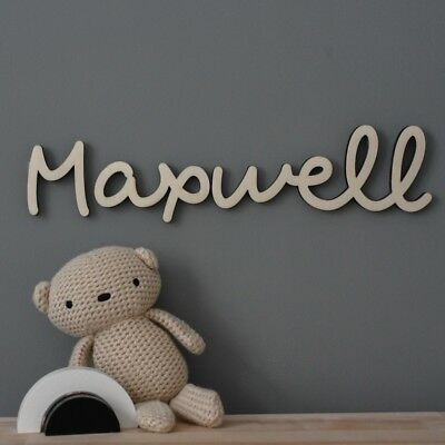 Hanging Wall Name Letters Nursery