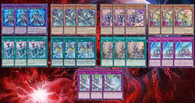 Gladiator Beast CHIM Deck Core 27 Cards Domitianus Vespasius Sagittarii YuGiOh!