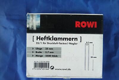 Tacker  Klammern  Typ 50  10mm    960 Stück   Rücken 12,50mm  für B/&D serie 418