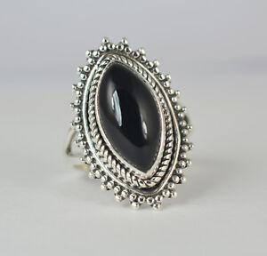 Black-Onyx-Ring-925-Sterling-Silver-Handmade-Ring-Black-Onyx-Jewelry