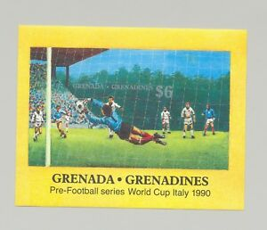 Grenade-Grenadines-1053-Soccer-1-V-S-S-Imperf-Proof