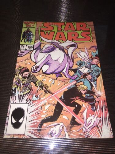 Star Wars #105 The Party/'s Over Marvel Comic Book 1986