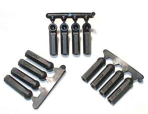 RPM Heavy Duty Long Shank Tie Rod Ends 4-40 Size (12) # 73392 Black Ball Links