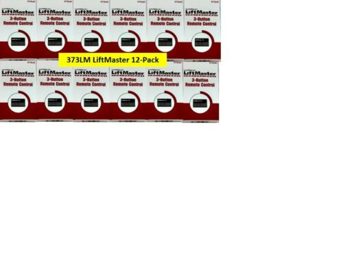 373LM 12-PACK Liftmaster Chamberlain Sears Craftsman 3 Button Remote 315m purple