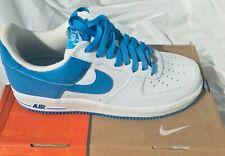 "🔥 Nike DS Air Force 1 White / University "" North Carolina Blue Men's size 9"