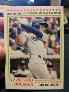 Cody-Bellinger-Topps-Rookie-Card-Throwback-Thursday-606-Run-Los-Angeles-Dodgers