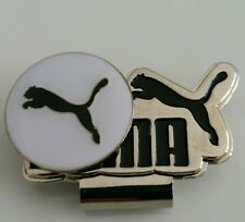 Brand New White and Black Puma Golf Ball marker with hat clip!!