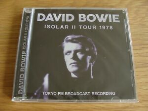 CD-Album-David-Bowie-Isolar-II-Tour-1978-Live-Tokyo-FM-Broadcast-Sealed