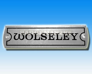 WOLSELEY-Rocker-Cover-or-Vehicle-Chassis-Plate-A-Series-BMC-Engine